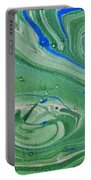 Pond Swirl 1 Portable Battery Charger