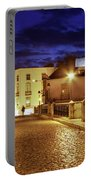 Ponte Romana At Blue Hour / Tavira, Portugal Portable Battery Charger by Barry O Carroll