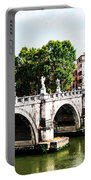 Ponte Saint' Angelo, Rome Portable Battery Charger