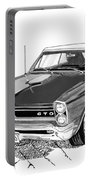 Pontiac Gto Convertible Portable Battery Charger