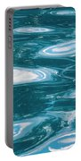 Pool Water Art Portable Battery Charger