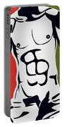 Pop Art Body  Portable Battery Charger