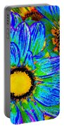 Pop Art Daisies 4 Portable Battery Charger