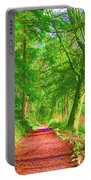 Pop Art Path Portable Battery Charger