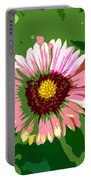 Pop Flower Work Number 23 Portable Battery Charger