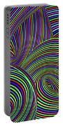 Pop Swirls Portable Battery Charger