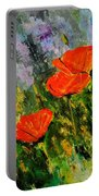 Poppies 107 Portable Battery Charger