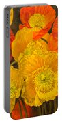 Iceland Poppies 2 Portable Battery Charger
