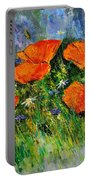 Poppies 79 Portable Battery Charger