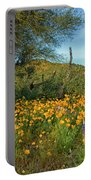 Poppies Abound Portable Battery Charger