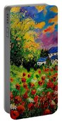 Poppies And Daisies 560110 Portable Battery Charger