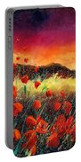 Poppies At Sunset 67 Portable Battery Charger