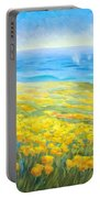 Poppies Greeting Whales Portable Battery Charger