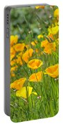 Poppies Hillside Meadow Landscape 19 Poppy Flowers Art Prints Baslee Troutman Portable Battery Charger
