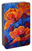 Poppies II Portable Battery Charger
