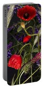 Poppies In The Corn Portable Battery Charger