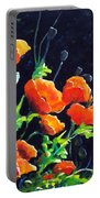 Poppies In The Light Portable Battery Charger