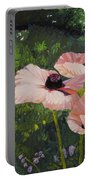 Poppies In The Sun Portable Battery Charger