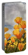 Poppies In The Wind Part Two  Portable Battery Charger