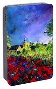 Poppies In Villers Portable Battery Charger