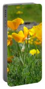 Poppies Meadow Summer Poppy Flowers 18 Wildflowers Poppies Baslee Troutman Portable Battery Charger