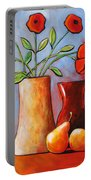 Poppies N Pears Portable Battery Charger