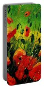 Poppies Poppies  Portable Battery Charger