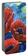 Poppies Splender Portable Battery Charger