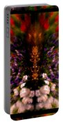 Popping Flowers Portable Battery Charger