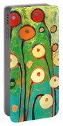 Poppy Celebration Portable Battery Charger by Jennifer Lommers