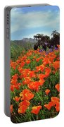 Poppy Explosion Portable Battery Charger