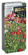 Poppy Fence Portable Battery Charger