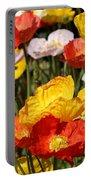 Poppy Flower Garden Portable Battery Charger