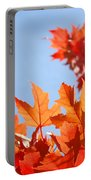 Popular Autumn Art Red Orange Fall Tree Nature Baslee Troutman Portable Battery Charger