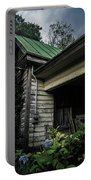 Porch Flowers Portable Battery Charger