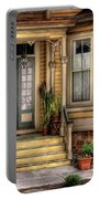 Porch - House 109 Portable Battery Charger by Mike Savad
