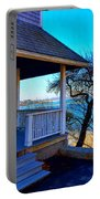 Porch View In Annisquam Portable Battery Charger