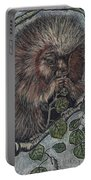 Porcupine In Aspen Portable Battery Charger