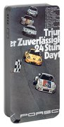 Porsche 24 Hours Of Daytona Portable Battery Charger