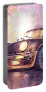 Porsche 911 Turbo 1979 Portable Battery Charger