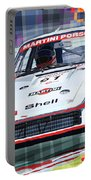 Porsche 935 Coupe Moby Dick Martini Racing Team Portable Battery Charger