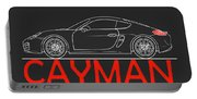 Porsche Cayman Phone Case Portable Battery Charger