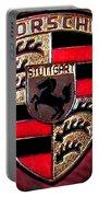 Porsche Emblem Portable Battery Charger