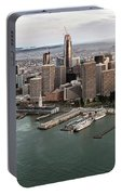Port Of San Francisco And Downtown Financial Districtport Of San Francisco And Downtown Financial Di Portable Battery Charger