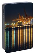 Port Of Vancouver In British Columbia Canada Portable Battery Charger