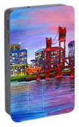 Portland City Lights #106 Portable Battery Charger