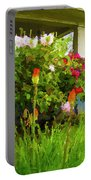 Portland Flowers Portable Battery Charger