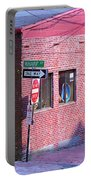 Portland Maine - Wharf Street Portable Battery Charger