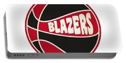 Portland Trail Blazers Retro Shirt Portable Battery Charger