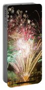 Portland Waterfront 4th Of July Fireworks Portable Battery Charger